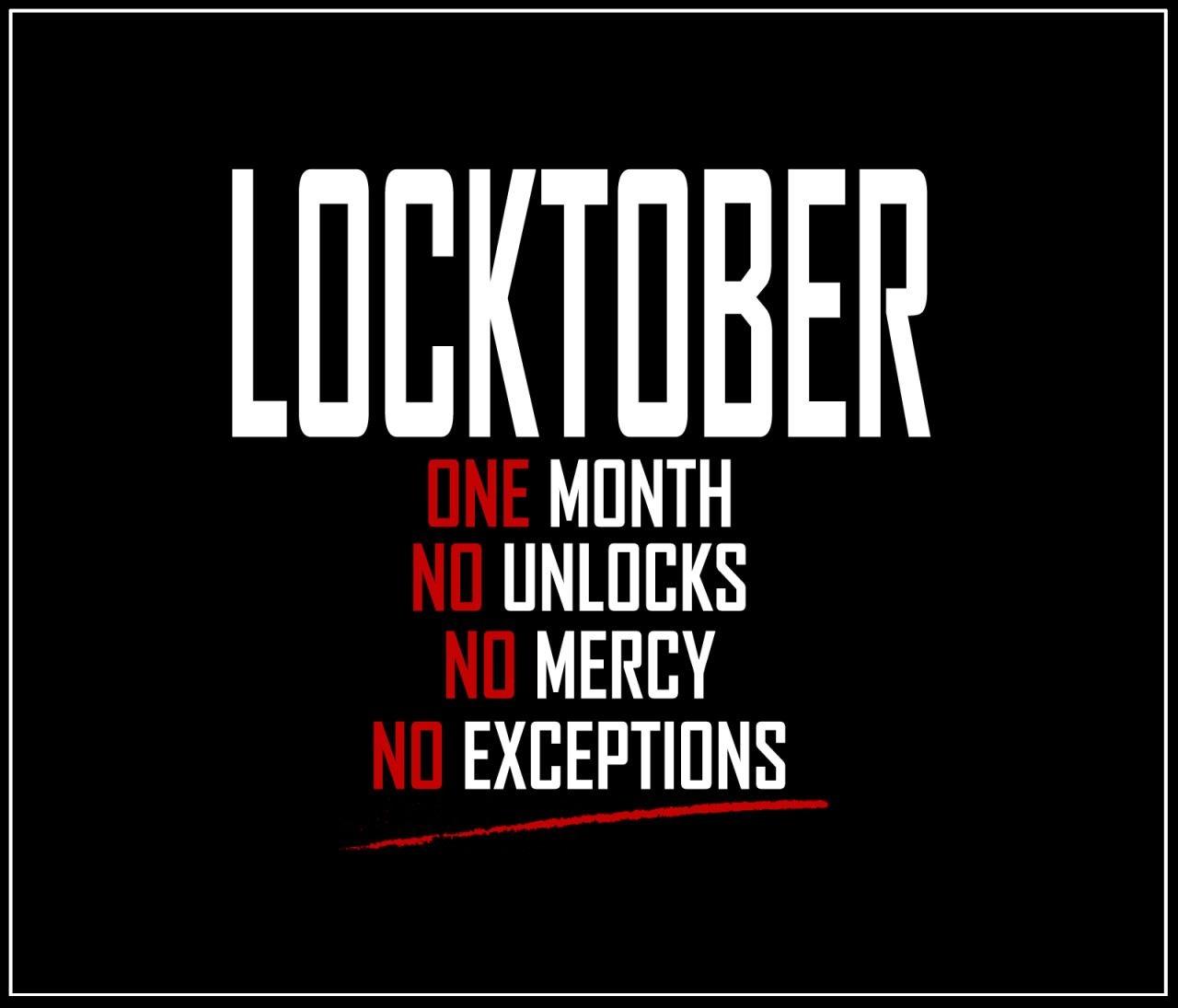 Locktober - Een maand lang in chastity