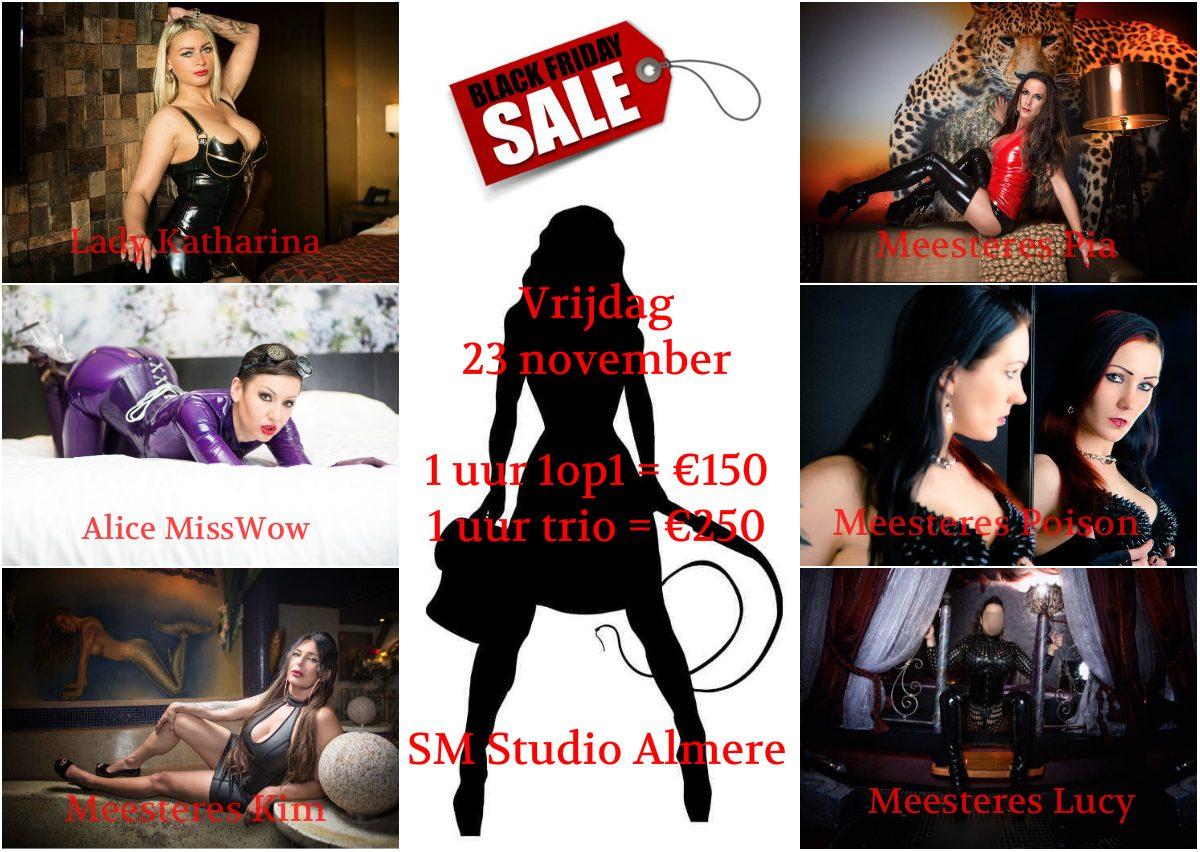 BDSM Black Friday - SM Studio Almere
