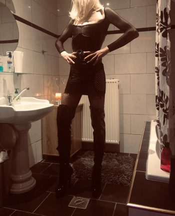 Travestiet van Mistress Beatrice
